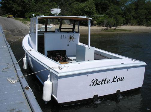 Osmond Beal Lobster Boat